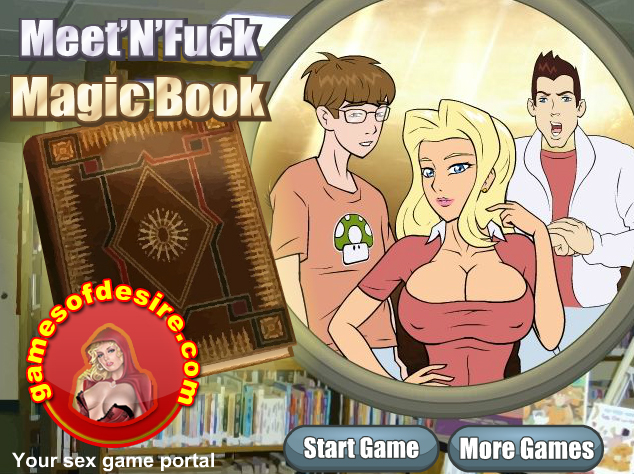 magic book flash game